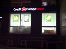 Лайтбоксы в CreditEuropeBank Екатеринбург
