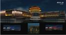 ТЦ Мегаполис. Проект архитектурной и световой подсветки здания